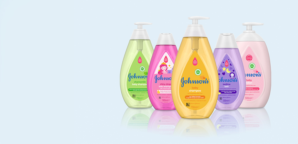 Johnsons baby products