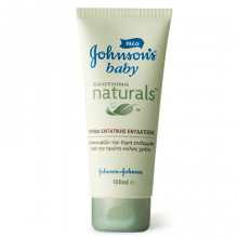 JOHNSON'S® Baby Soothing Naturals cream tube