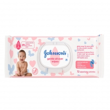 JOHNSON'S® Μωρομάντηλα Gentle All Over