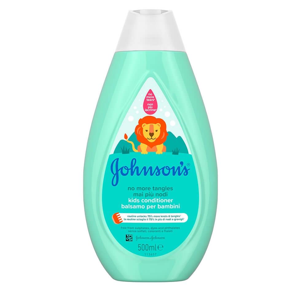 JOHNSON'S® No More Tangles® Kids Conditioner