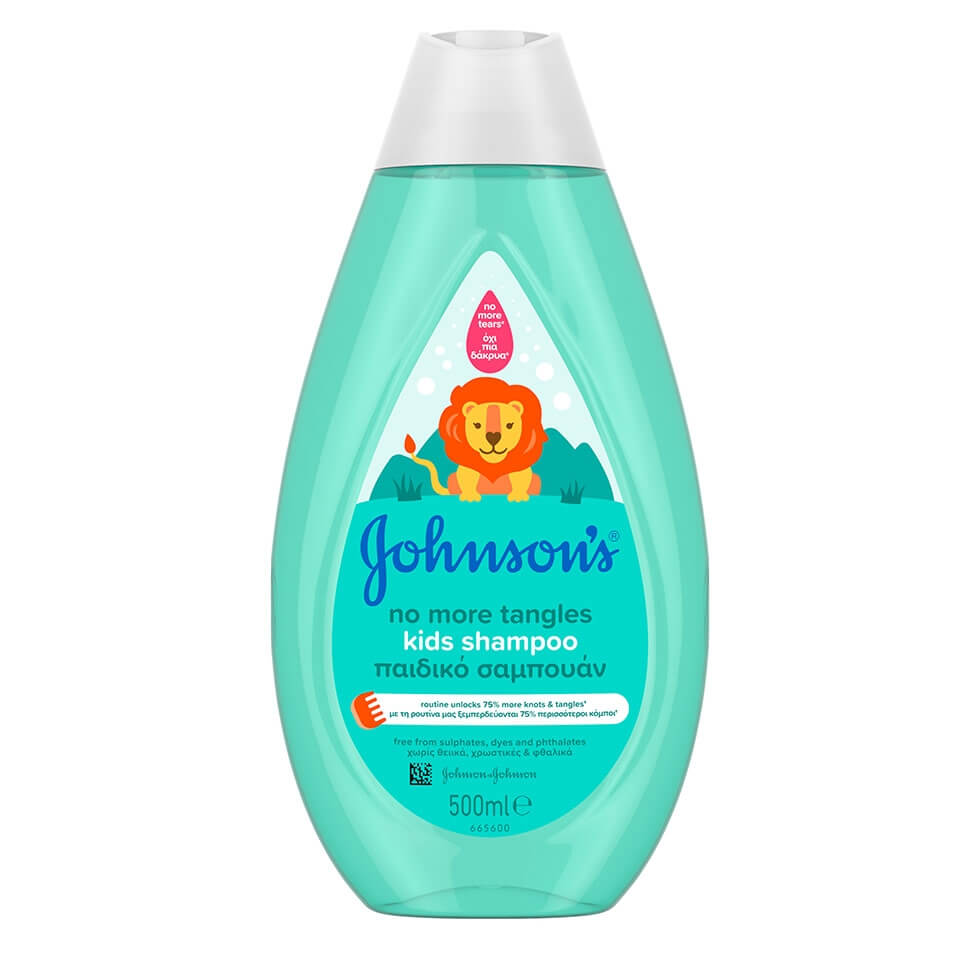 JOHNSON'S® Kids Σαμπουάν No More Tangles®