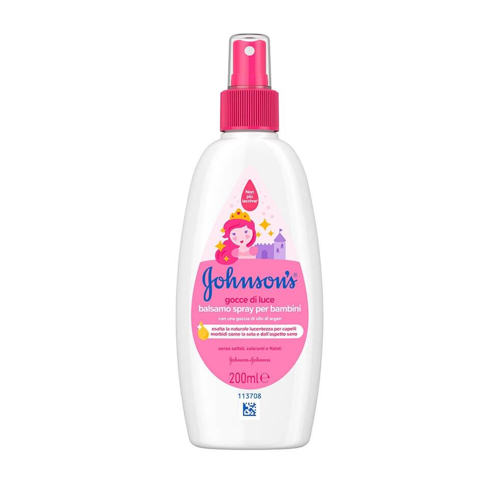 JOHNSON'S® Kids Conditioner Spray Λαμπερά Μαλλιά