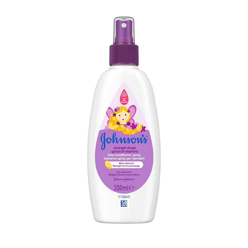 JOHNSON'S® Strength Drops Kids Conditioner Spray