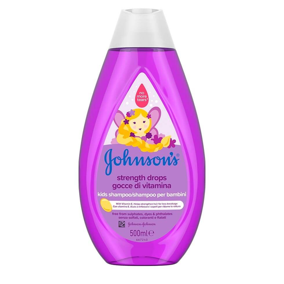 JOHNSON'S® Kids Σαμπουάν Strength Drops