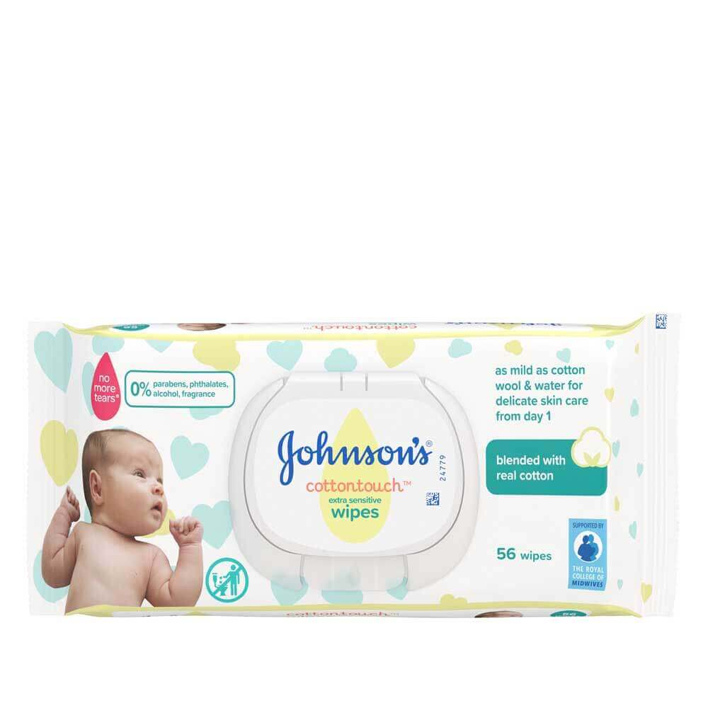 CottonTouch™ extra sensitive wipes